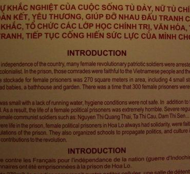 A Peregrine Dame Deleted Scene: Hoa Lo Prison